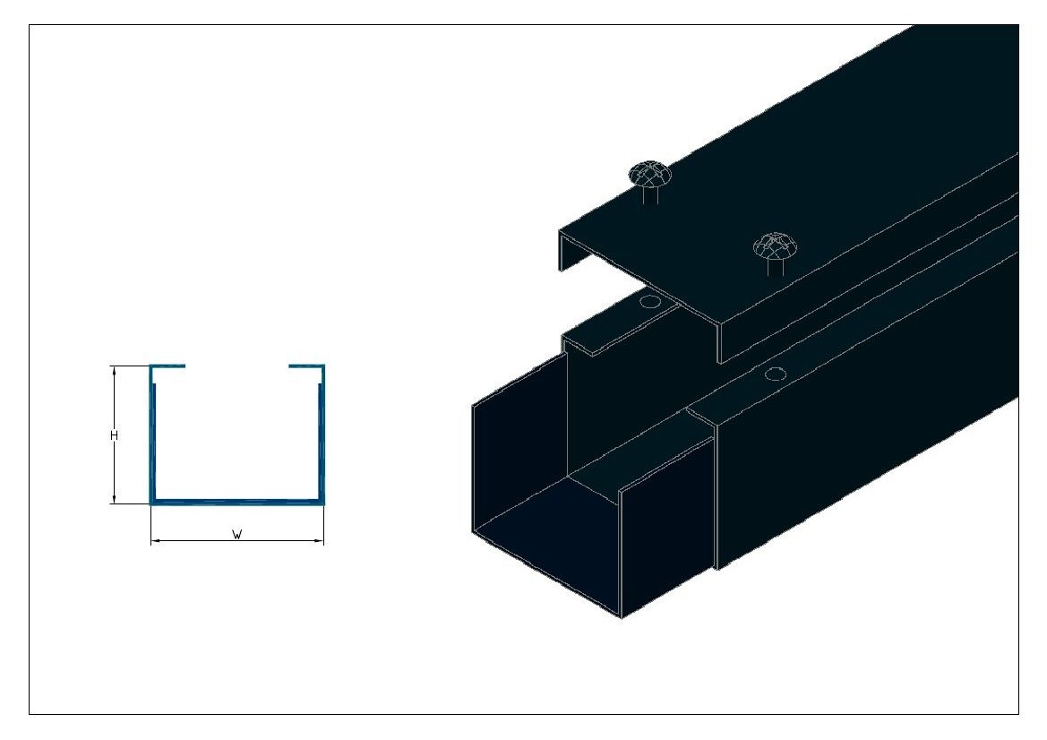 Cable Duct Product Shanghai Aifan Metal Coltd Open Slot Wiring Screw On Lid
